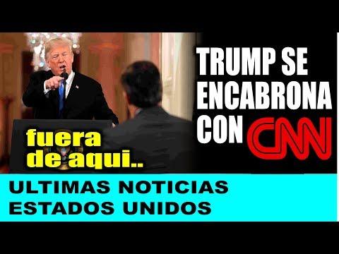 Ultimas noticias de EEUU, TRUMP SE ENCABRONA CON CNN ¡DIJO BASTA! 08/11/2018