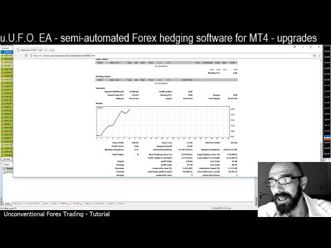 Forex hedging strategy math based for MT4: 'u.U.F.O.' EA robot - Upgraded Features - tutorial