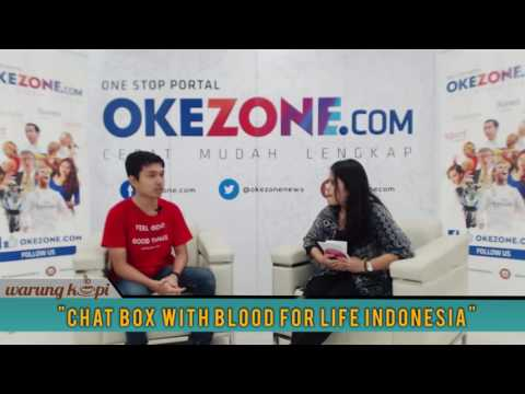 Chat Box with Blood For Life Indonesia