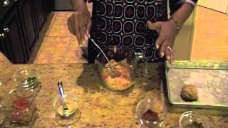 hCG Diet Recipe - Southwestern Chicken Burgers