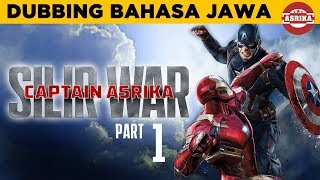 Asrika Films | Captain America - Civil War bahasa jawa - Part 1