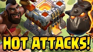 TWO HOTTEST TH11 War Attack Strategies!  Clash of Clans