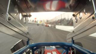 Ricky Otts-Super Modified #13-CNS Feature 7/19/14