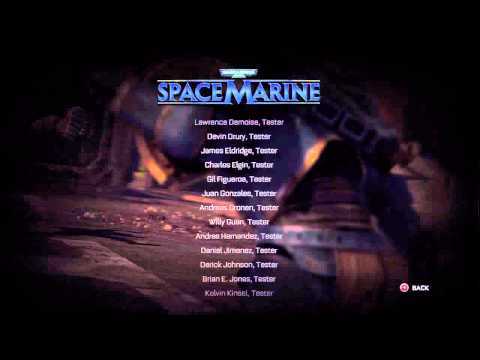 War Hammer 40k Space Marine part 29 the end just laftover credits