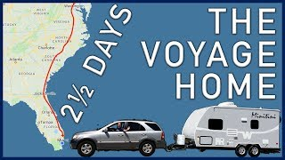 The Voyage Home: Massacнusetts to South Florida in 2 1/2 Days - Traveling Robert
