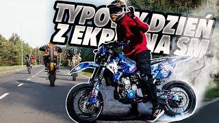 Gambar cover TYPOWY DZIEŃ Z EKIPĄ NA SUPERMOTO