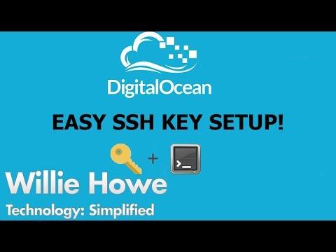 Easy & Fast SSH Key Based Authentication for Digital Ocean - YouTube