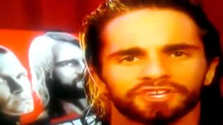 Seth Rollins- Tuck your legs in between your legs