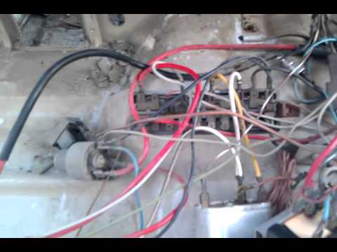 1967 early vw wiring  YouTube