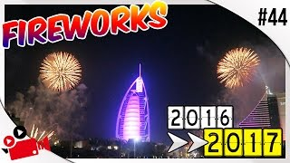 HAPPY NEW YEAR FROM DUBAI !! | BURJ AL ARAB FIREWORKS 2017