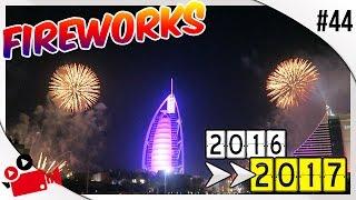 HAPPY NEW YEAR FROM DUBAI !! | BURJ AL ARAB FIREWORKS 2017