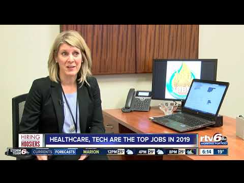 Hiring Hoosiers: Healthcare, tech jobs to surge in 2019