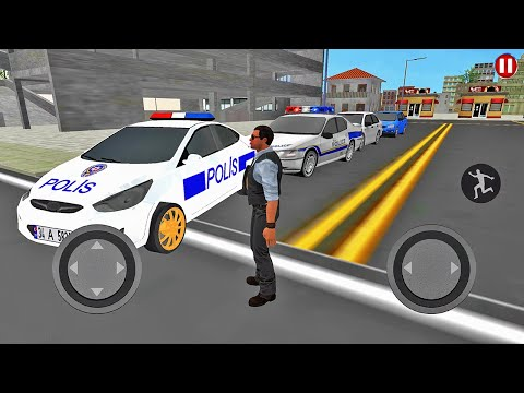 Real Police Car Driving Simulator 3D - Police Patrolling Busy Street - Android Gameplay