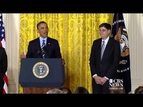 Obama nominates Jack Lew for Treasury secretary