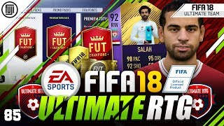 92 SALAH POTM + REWARDS!!! FIFA 18 ULTIMATE ROAD TO GLORY! #85 - #FIFA18 Ultimate Team