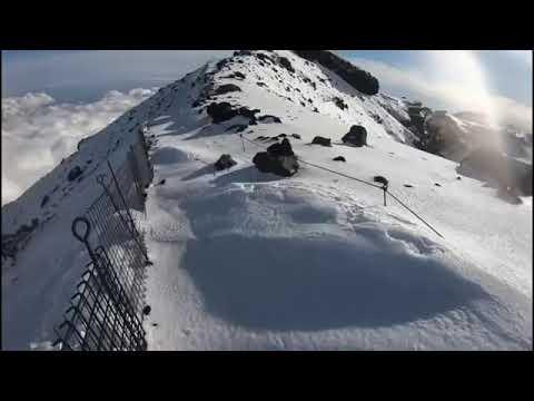 雪 の 富士山 へ go 富士山滑落 ニコ生主 「富士山へGO」 滑落までの11分・・・【注意喚起】20