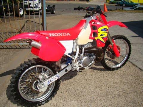 Honda cr500 1994 youtube for Honda cr 500