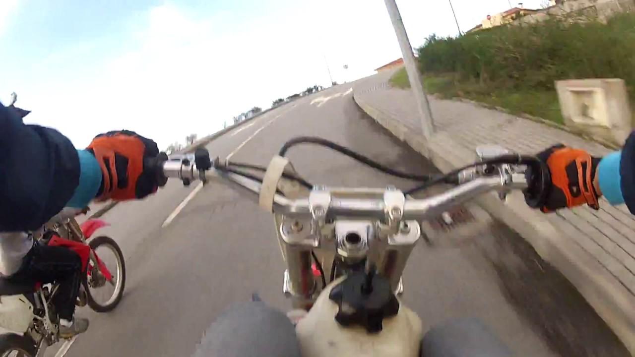 Honda CR80 vs. Honda CR85 vs. Honda CR125 Top Speed - YouTube