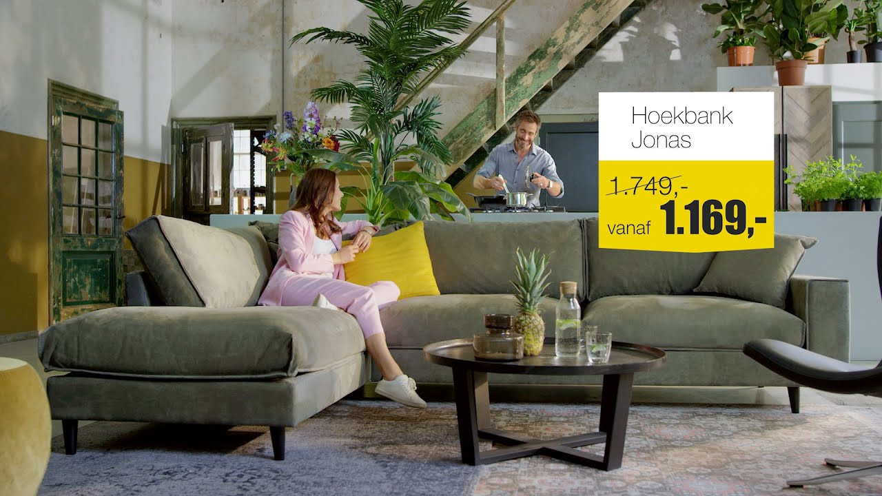 Goossens Design Bank.Hoekbank Jonas Sale Goossens Wonen En Slapen Youtube