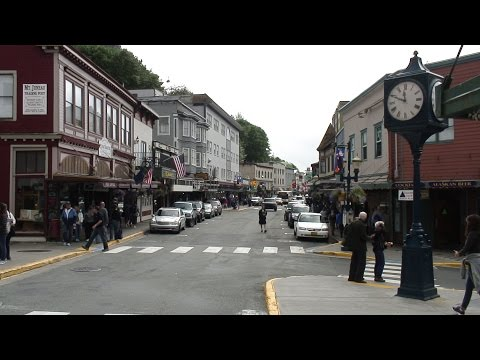Juneau, Alaska - A Short Walk Around Town