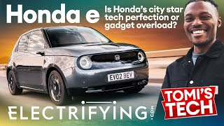 Honda e 2021 technology review - Tomi's Tech Download / Electrifying