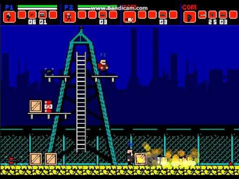 Super Fighters супер бойцы игра на двоих боты читеры
