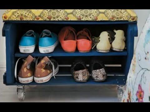 видео: Полка для обуви своими руками