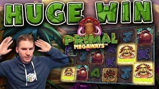HUGE WIN on Primal Slot - £5 Bet!