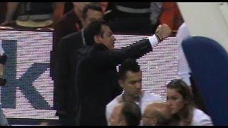 Ergin Ataman Yumruk! Maç sonu (Galatasaray-Fenerbahçe)