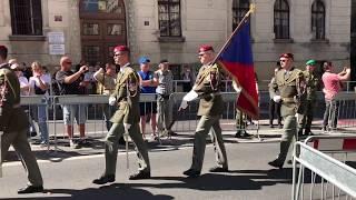 Pietní vzpomínka u příležitosti 76. výročí boje čs. parašutistů
