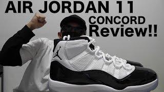 AIR JORDAN 11 RETRO CONCORD 購入! sneakerレビュー