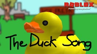 The Duck Song - Bryant Oden | Roblox Music Video