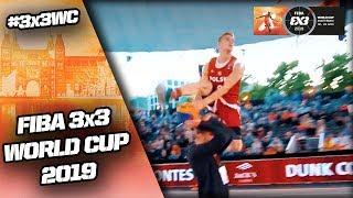 Dunk Contest Qualifier 2019 | Highlights | FIBA 3x3 World Cup 2019 Video