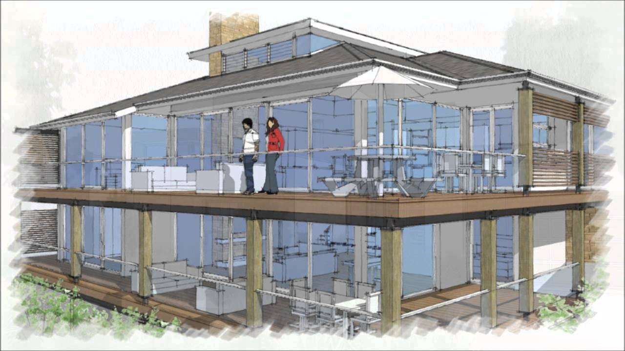 How To Design Your Own Home For Free With SketchUp And TreblD