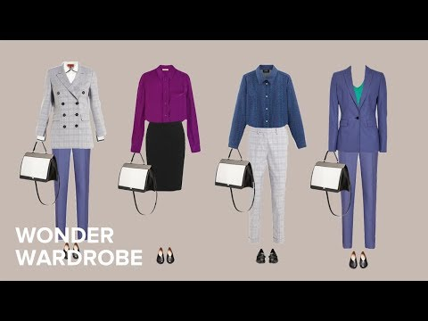 Increased versatility: The Business Formal Wardrobe (100 outfits)