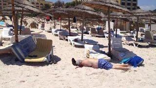 مصر العربية | شاهد جثث ومصابي حادث سوسة  الارهابي بتونس