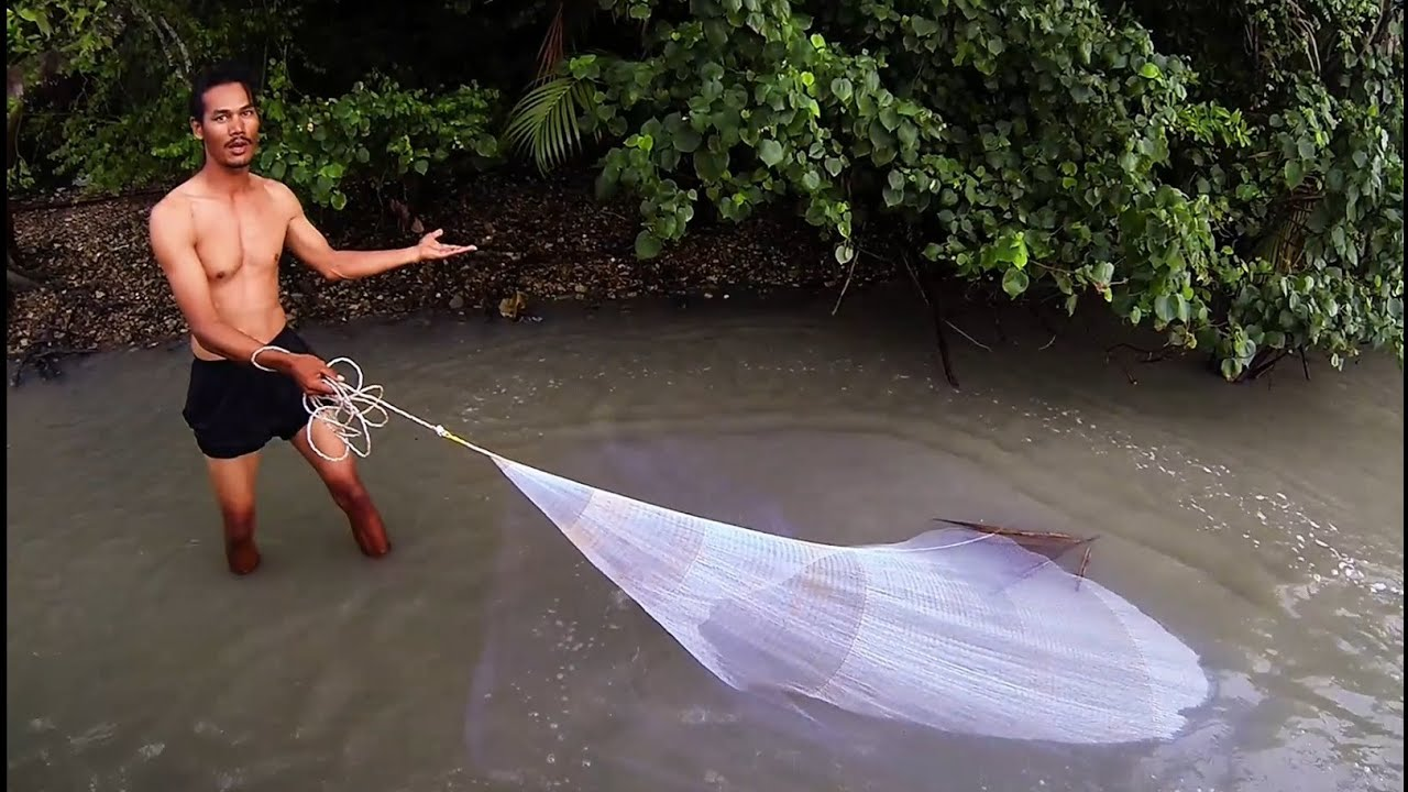 How to catch prawns using net doovi for How to catch a fish