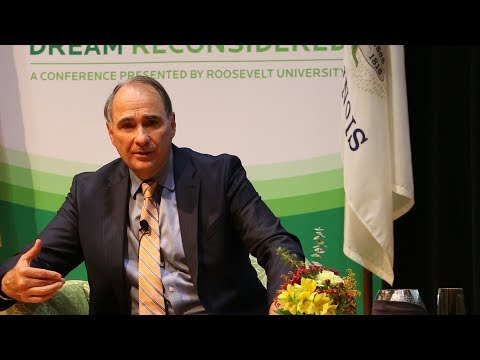 David Axelrod and Bill Kristol on the 2016 Presidential Election--The American Dream Reconsidered
