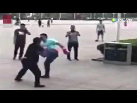 Kung Fu Hobbyist Challenges MMA Hobbyist In China
