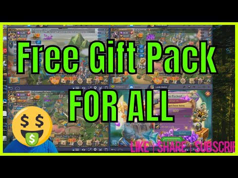 Lords Mobile Free Gift Pack | How To ?
