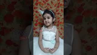 Chinna Chinna Aasai Song Sing By Child | Roja Movie Song #shorts