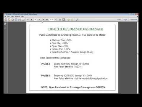Affordable Care Act Webinar