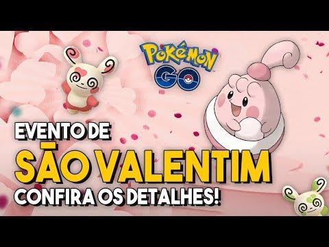 MAIS CANDY, LURE E POKÉMON ROSA! DIA DE SÃO VALENTIM! | Pokémon GO thumbnail