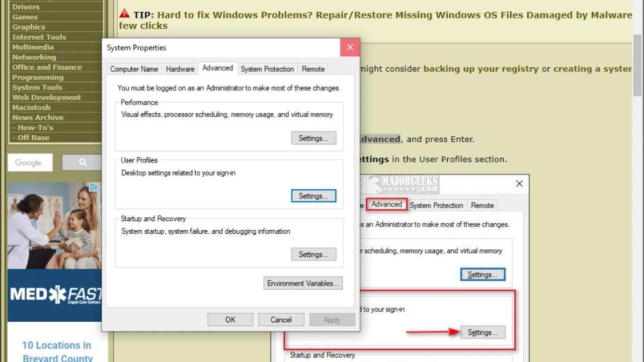 How to Delete a User Profile in Windows 10