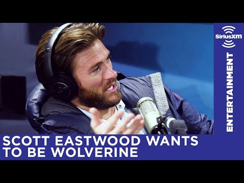 Scott Eastwood explains his Wolverine comment to Michelle Collins