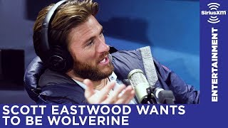 Scott Eastwood explains his Wolverine comment to Michelle Collins streaming