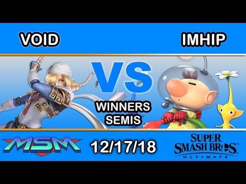 MSM 170 - CLG | VoiD (Shiek) Vs. ImHip (Olimar) Winners Semis - Smash Ultimate