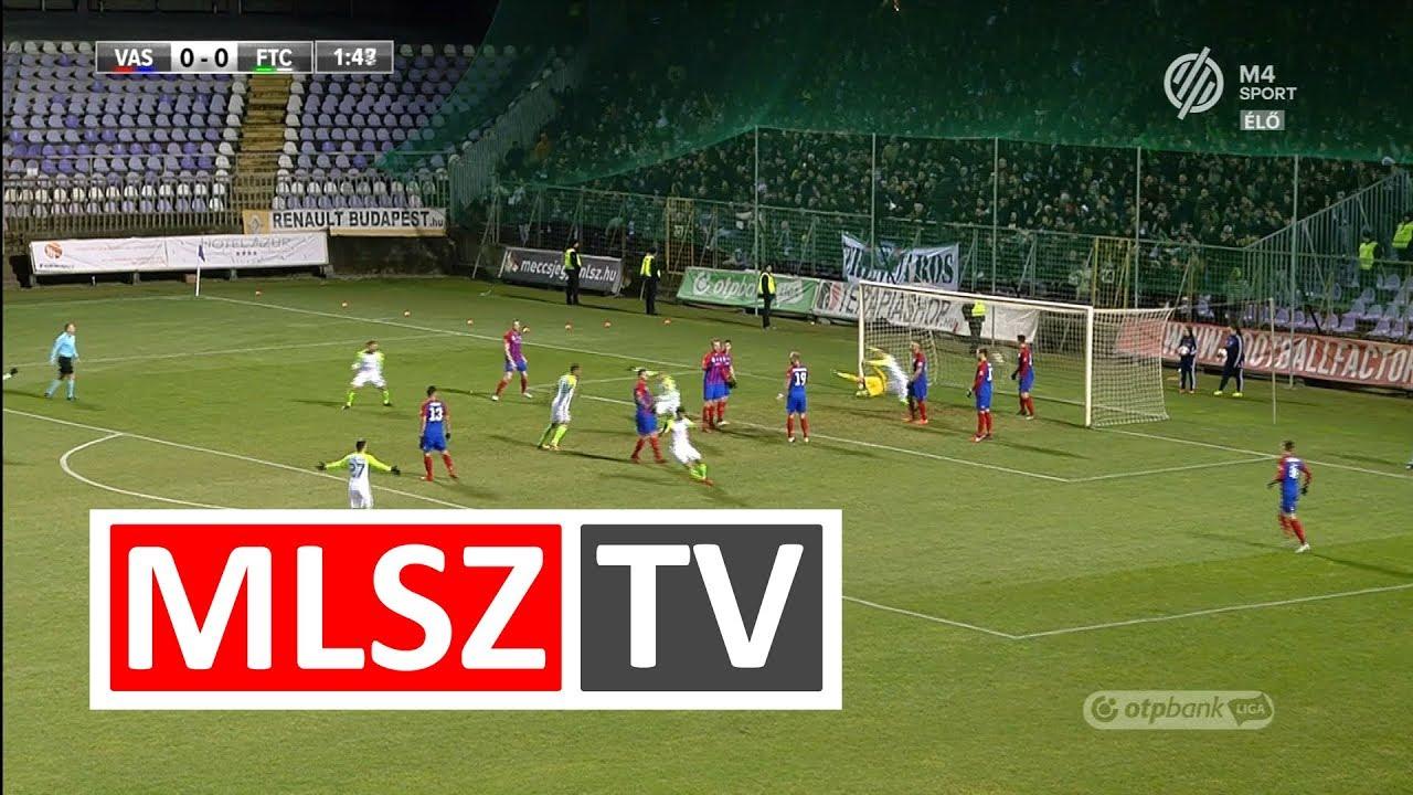Lovrencsics Balázs gólja a Vasas FC - Ferencvárosi TC mérkőzésen