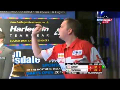 2014 Northern Ireland Open 1/4 Finals Durrant v Concannon