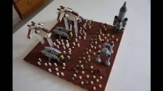 LEGO Battle of Geonosis Mini MOC